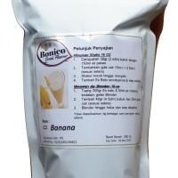 BONICO BANANA drink powder 500gr Bubuk minuman milk PISANG ICE BLEND
