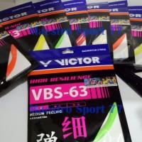 Senar Raket/String Badminton Victor VBS-63.