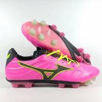 Sepatu Bola Mizuno Rebula V1 Pink GLow MD Replika Impor