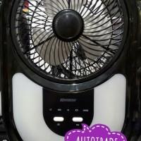 Limited KRISBOW EMERGENCY BOX FAN WITH 40 LED KIPAS ANGIN LAMPU DARUR
