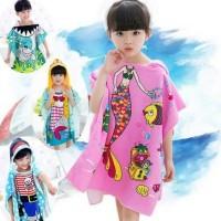 Handuk Baju Ponco Anak Karakter