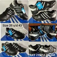 Sepatu Adidas AX2 produk lokal unggulan. Black&White