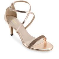 Marelli Sepatu High Heels Wanita Rose Gold - 2005