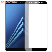 Tempered Glass Samsung A9 2018 Warna Anti Gores Kaca Full Screen A9