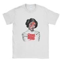 Baju Kaos Tshirt Star Wars Leia Rebel Rebel
