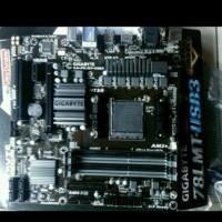 Motherboard Gigabyte GA-78LMT USB3 Socket AM3 Garansi Resmi