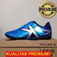 ANEKASEPATU Sepatu Futsal Kelme Star Evo Sky Blue Silver 1103003 Origi