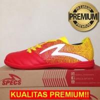 ANEKASEPATU Sepatu Futsal Specs Equinox IN Emperor Red Yellow 400711 O