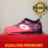 ANEKASEPATU Sepatu Futsal Lotto Veloce IN Bright Peach L01040002 Origi