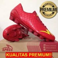 ANEKASEPATU Sepatu Bola Specs Accelerator Exocet FG Dark Red 100764 Or