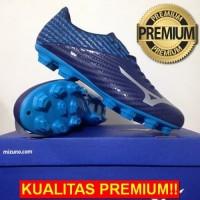 ANEKASEPATU Sepatu Bola Mizuno Basara 103 MD Peacoat Blue Jewel P1GA18