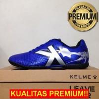 ANEKASEPATU Sepatu Futsal Kelme Star Evo Royal Blue Silver 1103703 Ori