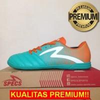 ANEKASEPATU Sepatu Futsal Specs Equinox IN Comfrey Green Orange 400712