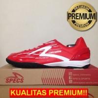 ANEKASEPATU Sepatu Futsal Specs Metasala Warrior Premier Red Black 400
