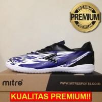ANEKASEPATU Sepatu Futsal Mitre Flare IN Black Blue White T01040013 Or