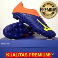 ANEKASEPATU Sepatu Bola Mizuno Basara 103 MD Navy Orange P1GA176454 Or