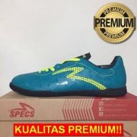 ANEKASEPATU Sepatu Futsal Specs Quark IN Tosca Solar Slime 400758 Orig