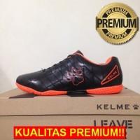 ANEKASEPATU Sepatu Futsal Anak Kelme Star 9 Junior Black Orange 111524