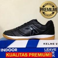 ANEKASEPATU Sepatu Futsal Kelme K-Strong Black Negro 55787 Original BN
