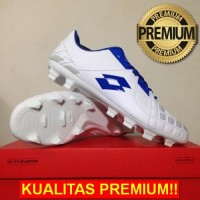 ANEKASEPATU Sepatu Bola Lotto Squadra FG White Dawn Blue L01010012 Ori