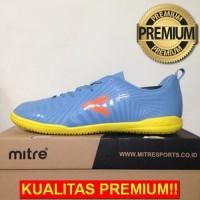 ANEKASEPATU Sepatu Futsal Mitre Optimize IN Dark Lead Orange T01040021