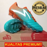 ANEKASEPATU Sepatu Bola Specs Equinox FG Comfrey Green Orange 100795 O