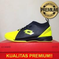 ANEKASEPATU Sepatu Futsal Lotto Energia IN Safety Yellow L01040008 Ori