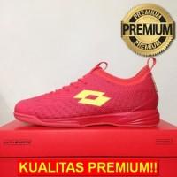 ANEKASEPATU Sepatu Futsal Lotto Spark IN Solar Red Yellow L01040005 Or