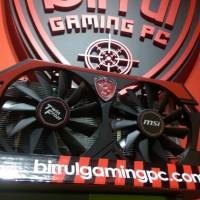 Msi gtx 750 ti 2gb twin frozr DDR5 murah