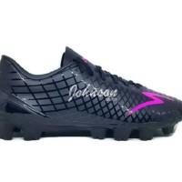Sepatu Sepak Bola SPECS - ACCELERATOR EXOCET Black / Beat Magenta