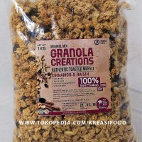 Granola Creation Cinnamon & Raisin 1 Kg toasted muesli sereal