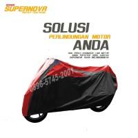 body cover motor Aerox 150cc-sarung motor Aerox-selimut motor aerox - Hitam