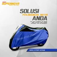cover motor / selimut motor sport/moge - Navy