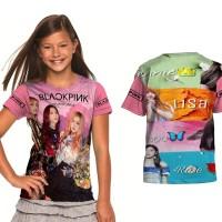 kaos baju anak Blackpink k-pop