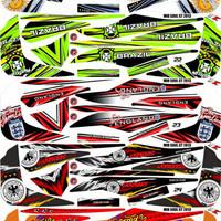 Sticker / Striping Variasi Mio Soul Gt 2012-2014   -1A
