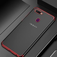 CASE TPU PLATING SOFT COVER CASING REAL ME 2 PRO / OPPO F9 / F9 PRO
