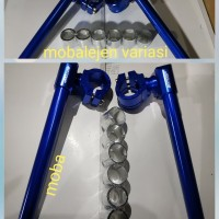 stang jepit drag new cnc/stang motor vixion/satria fu/ninja r/rr/cbr