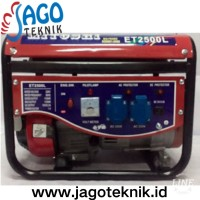 Generator MITOSHI ET2500C 1100 Watt / Genset 1000 watt ready termurah