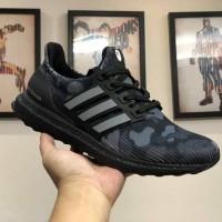 Sepatu Sneakers Adidas Ultraboost Bape X Black Camo Sneakers Premium
