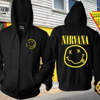 Jaket Zipper Band Nirvana