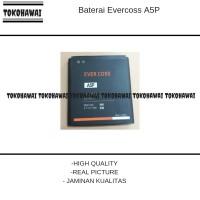 Baterai Evercoss A5P/Double Power/battrey/batrai/batre hp/ori