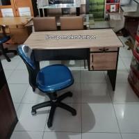 Paket Meja Kantor Kaia 206 + Kursi indachi Hadrolik
