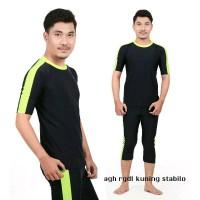 baju renang muslim pria dewasa M L XL