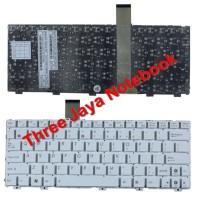 Keyboard Asus Eee PC 1025 1025C 1025CE EeePC Flare Series PUTIH