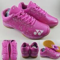 Sepatu Badminton Cewek Yonex Aerus 2 Limited Lee Chong Wei Pink