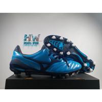 Sepatu Bola Mizuno Morelia Neo II Blue Atoll MD Replika Impor