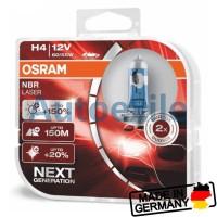 Osram NBR Laser Next Generation H4 NBL Night Breaker Gen2 Lampu Mobil