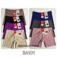 Celana dalam wanita boxer hot pants seamless tanpa jahitan sorex BA101