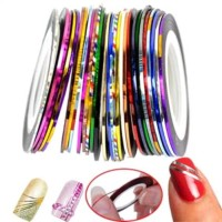 Nail art stripping tape/sticker isolasi kuku