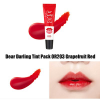 Etude House Dear Darling Tint Pack OR203 Grapefruit Red